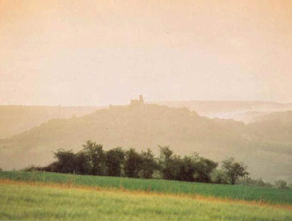 Vézelay - a view